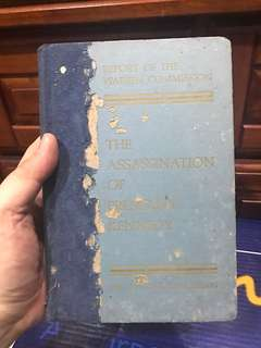 Vintage Book - Report of the Warren Commission Assassination of President Kennedy NY Times 1964