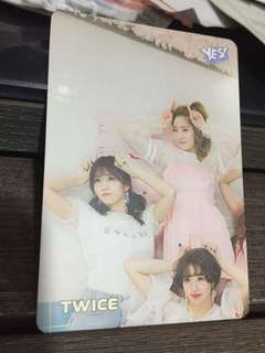 #13 20期 Twice yes card