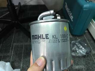 Diesel filter fuel mahle kl100/2