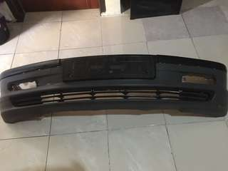 bemper / bumper depan plus list bmw e46