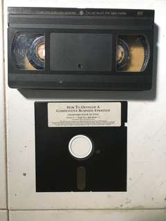 VHS & Floppy Disc