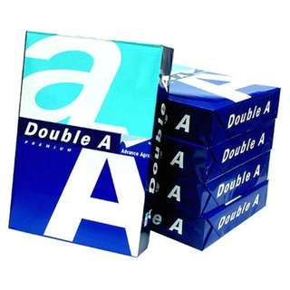 Double A A4 paper + free delivery