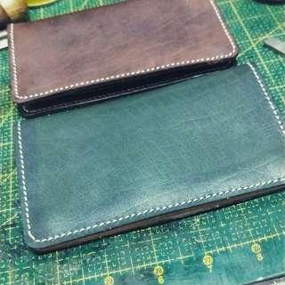Leather trucker's wallet
