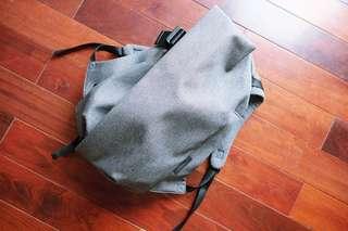 Like new Cote & Ciel Isar M Eco Yarn Black Melange backpack