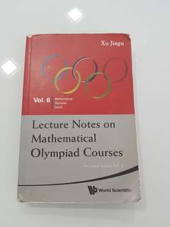 Lecture Notes on Mathematical Olympiad meet Courses