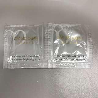 Cle De Peau高效亮膚精華0.4ml x2
