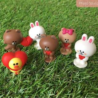 Line Characters Milk Cure Figurings Collectibles