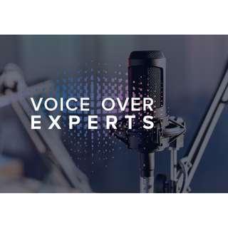 Male & Female Voice Over