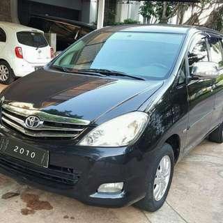 Toyota Kijang Innova V 2.0 at bensin 2010 hitam
