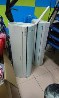 SALE** Panasonic 2x Units + Compressor aircon airconditioning home reno office space property hdb rental agent