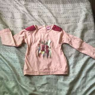 Juniors long sleeves for girls size 36mos