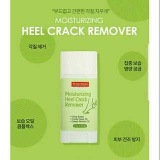 Purederm Heel Crack Remover w/ sample freebie