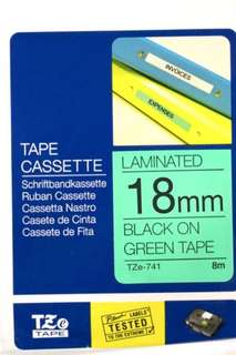 Brother label cartridge 18mm