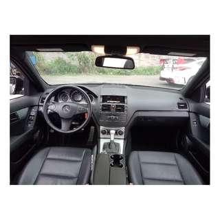 2009年  賓士C300  黑色標配 二手車中古車