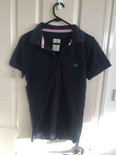 Navy Blue Polo top/shirt