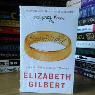 committed - Elizabeth gilbert (masih dalam plastik)