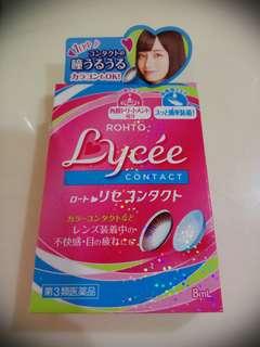 Ready stock-Rohto Lycee contact lens eye drops