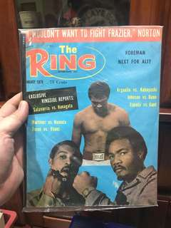 The Ring Boxing Magazine - Muhammad Ali, George Foreman, Ken Norton