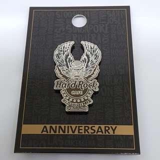 🚚 Hard Rock Pin - Penang 8th Anniversary Pin (Limited Edition 150) - (NEW)
