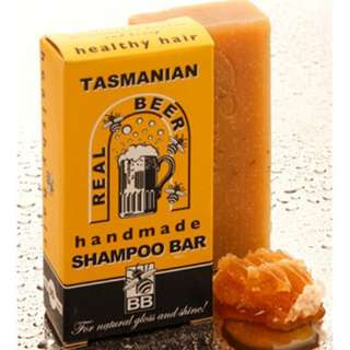 Beauty and the Bees Tasmanian Beer Shampoo Bar 125g Australian Natural