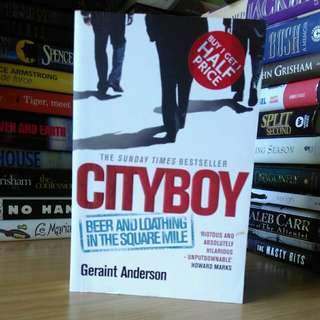 City boy - geraint anderson (large print)