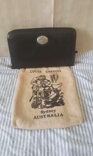 Louis Cardini Black Wallet (large) - New