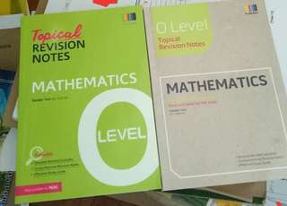 N & O lvls maths revision notes
