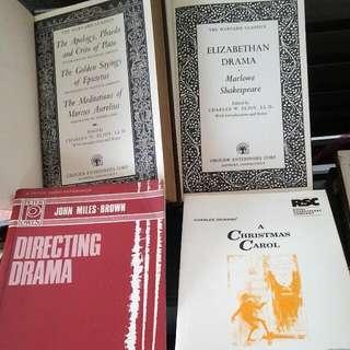 Harvard Classics Drama Stage Play BOOK