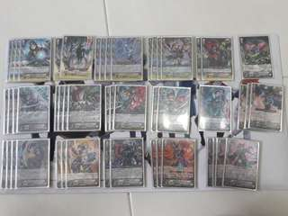 Cardfight Vanguard Shadow Paladin Luard Deck