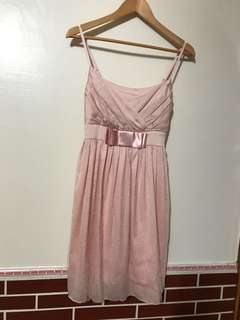 🚚 粉紅小洋裝