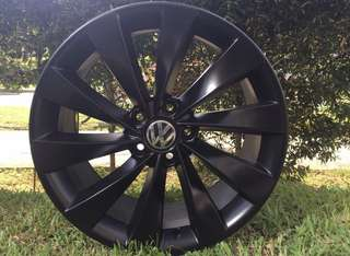 18in PCD 5-112 Original Volkswagen Rims On Offer Sale