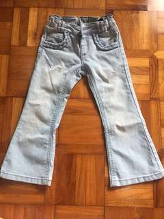 Mothercare adjustable waist jeans 2 yo
