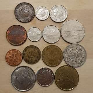 70 Mixed European Coins