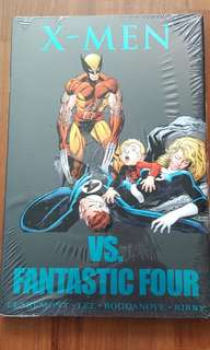 X-men vs Fantastic Four hardcover