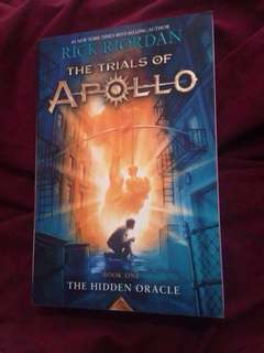 The Trials of Apollo Book 1: The Hidden Oracle by Rick Riordan