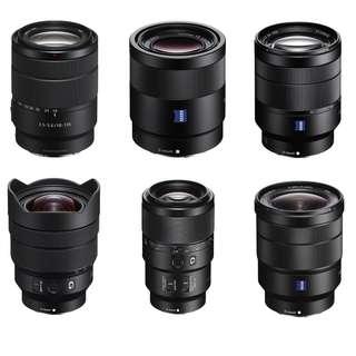 Sony Lens Brand New