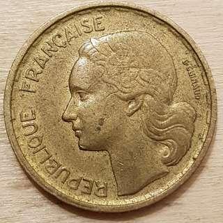 1958 France 10 Francs Coin