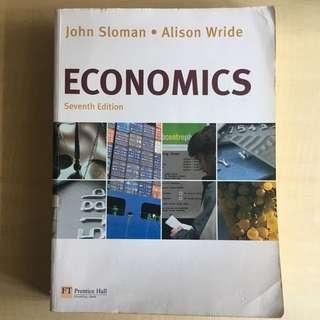 Economics John Sloman (7th Edition)