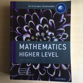 IB Mathematics HL Course Companion