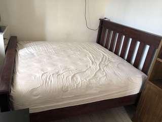 Madrid king size bed frame