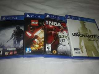 Ps4 games for sale rush!!!