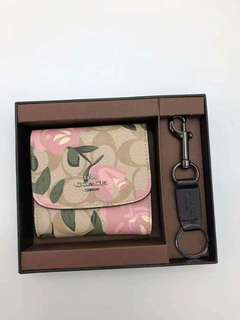 Coach Small Wallet Set for Women