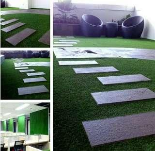 Rumput Sintetis Untuk Dekorasi Lantai Rumah