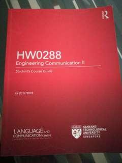 HW0288 Engineering Communication II