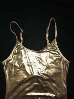 Golden Bodysuit