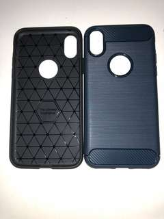 [INSTOCK] Carbon Fibre case iPhone X antislip