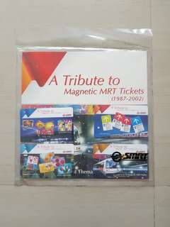A Tribute to Magnetic MRT Tickets (1987-2002)- Transitlink Cards