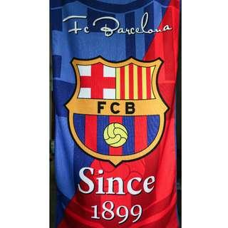 Barcelona Football Club Extra Large Microfiber Towel