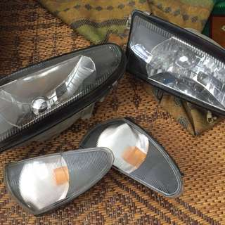 Headlamp Wira with signal
