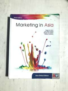Marketing In Asia, 3rd Ed (MKT1705 textbook)